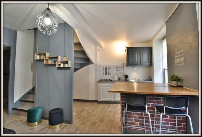 LE SANCY Duplex 4 pers  20 min de Clermont Fd