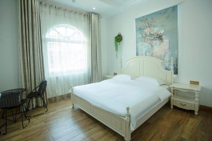 湄洲岛六十八号欧式田园豪华大床房 码头免费接送301