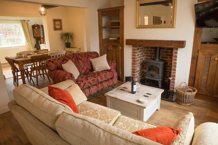 From £80.  Country Cottage close to centre of York