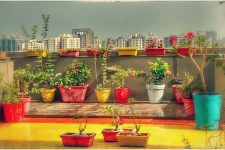 Homestay wid Private Terrace Garden - Ahmedabad - Lakás