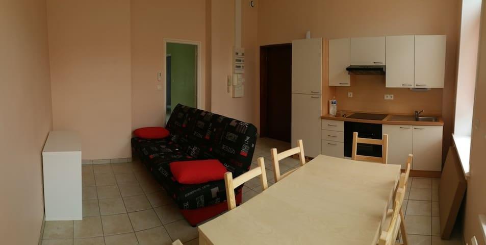 T2 Lumineux à 2 pas du Centre - Boulogne-sur-Mer - Apartamento