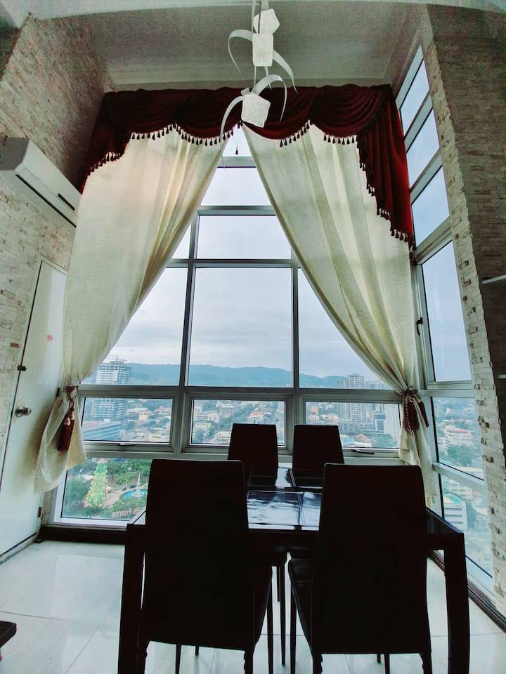 Luxury 2 Bedroom Sinulog View Condo
