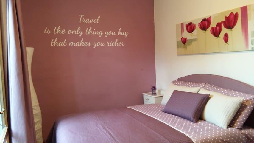 Camera rosa a Valdobbiadene - Valdobbiadene - Haus
