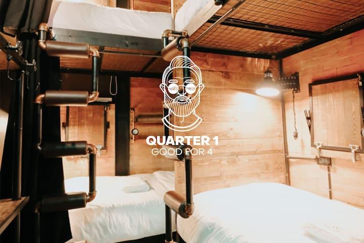 Quarter 1 at Funky Quarters