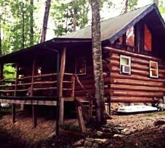Authentic Log Cabin in the Red River Gorge - Slade - 独立屋