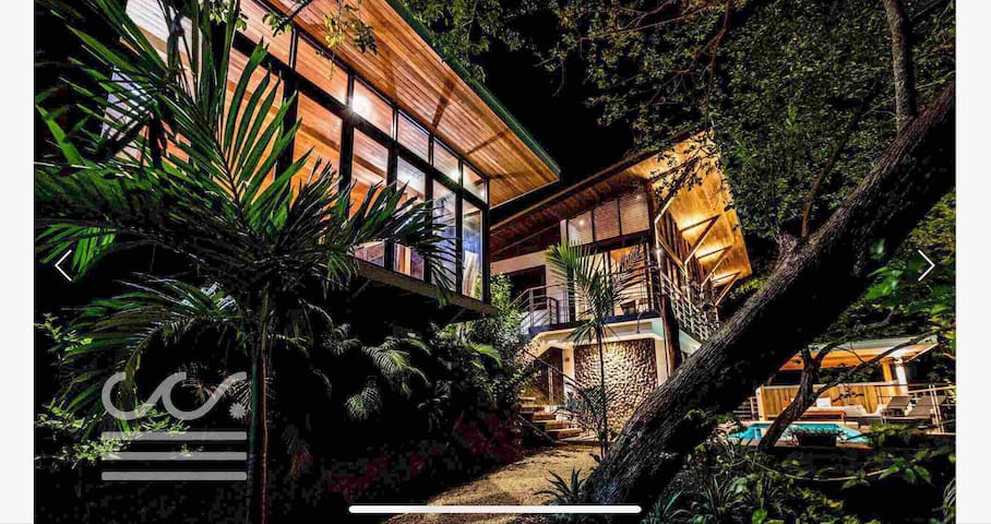 Canopy villa next Surf and Yoga