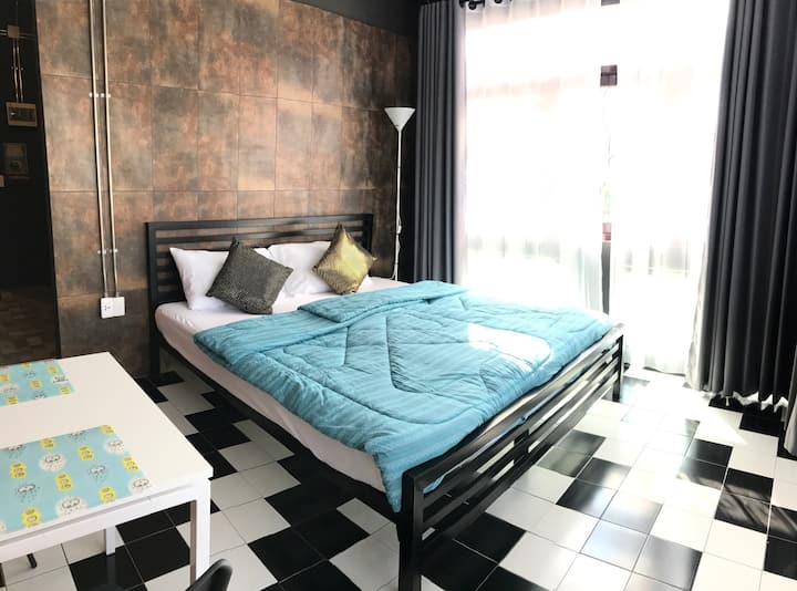Cozy 2 BDRs+ 2 Baths for 3 in Chiangmai city(3/9B)