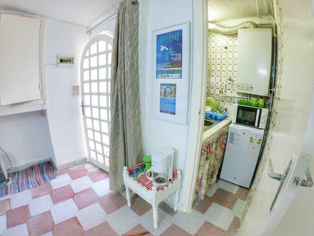 Mini Studio intime au coeur de laMarsa vue mer