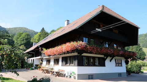 Rooms Spruce in traditional Black Forest Farm