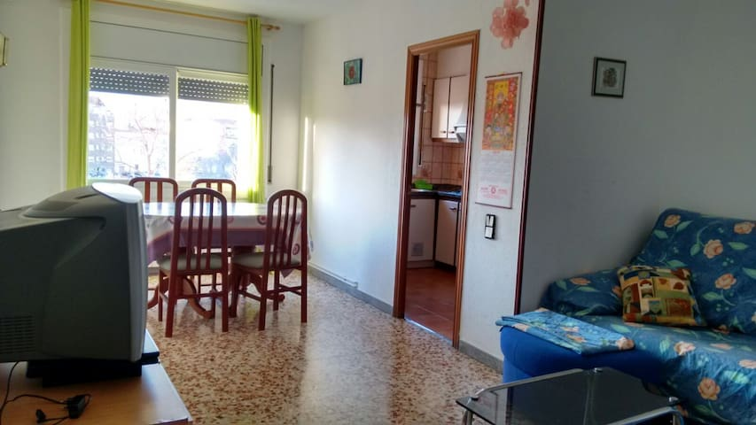 Bright Apartment in TERRASSA city - Terrassa - Apartamento
