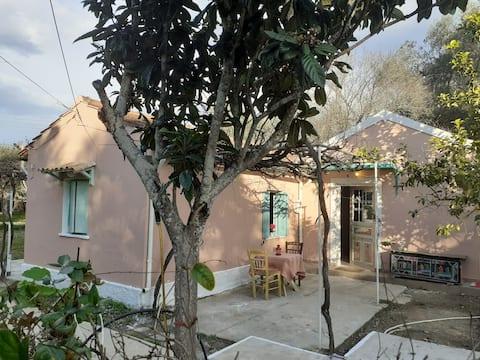 Rodopis House near beach ( free car)