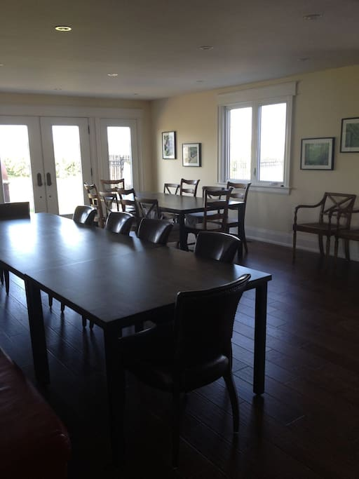 Dining Room with Vineyard view