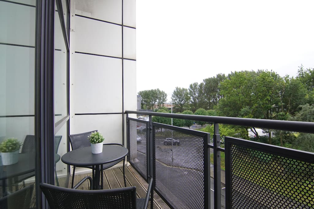 Balcony off lounge
