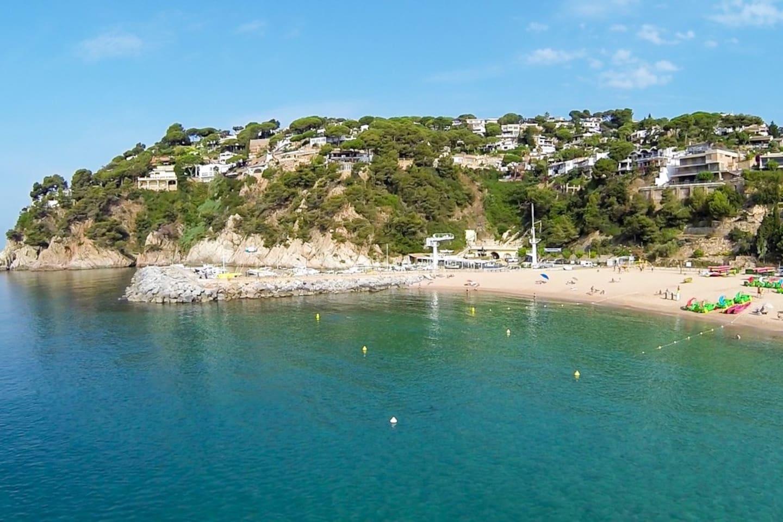 Nächster Strand die Bucht von Cala Canyellas