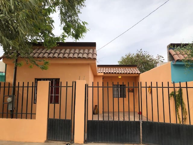 Cremecicle Cottage in Algodones, Mexico