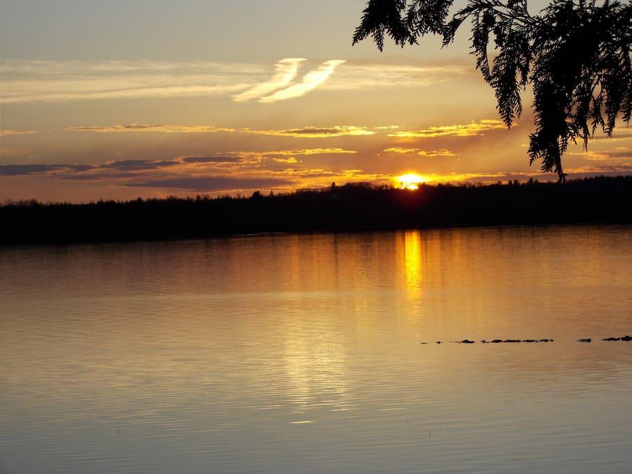Always...beautiful sunsets