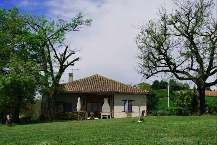 Gîte typique du Quercy - Montpezat-de-Quercy - Alojamento ecológico
