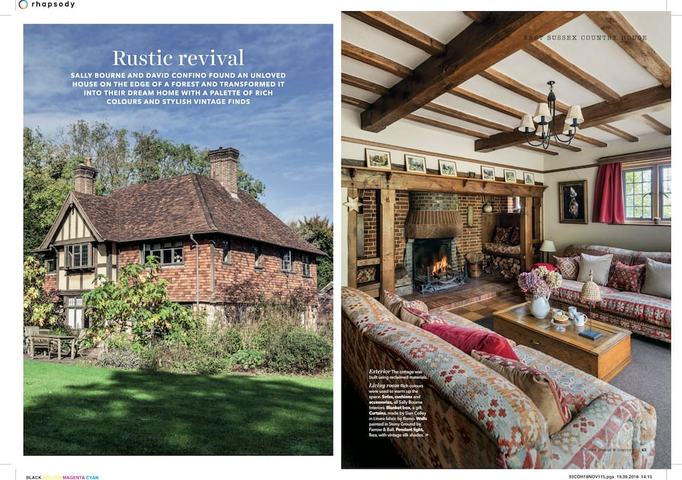 As featured in Country Homes and Interiors Nov 20018