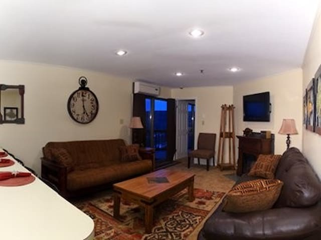 Winterplace Ski in Ski out condo First floor! D104