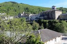 Le village de Vabre, classé Village des Justes  pour la résistance civile héroïque de ses habitants pendant la période de guerre 1939/1945