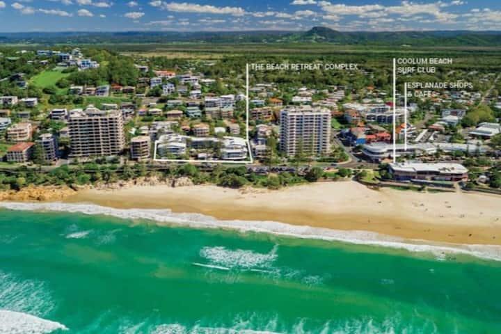 2bed, 2bath Coolum Beach Retreat: Family Resort