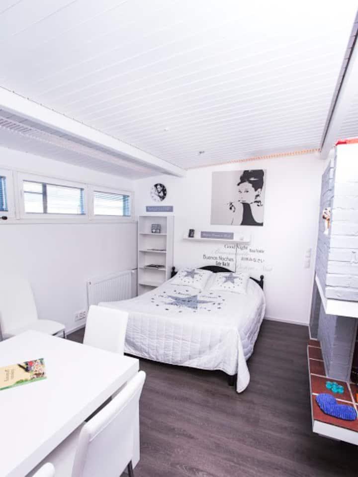 Kokous,sauna,majoitus ja asuintila