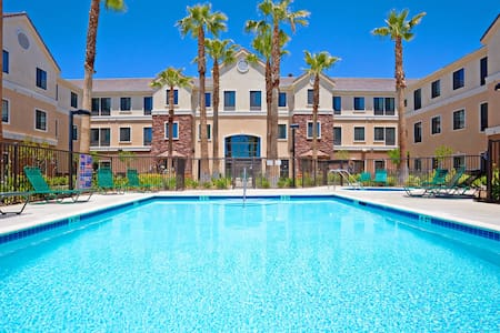 Free Breakfast. Outdoor Pool & Hot Tub. Near Edwards Air Force Base! Your Next Trip!