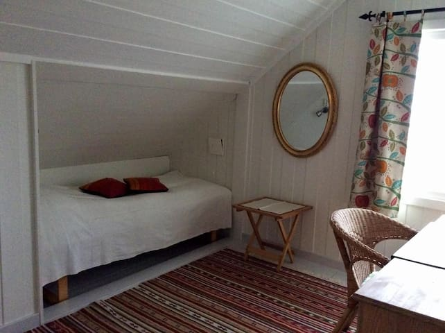 Single bed in the private room