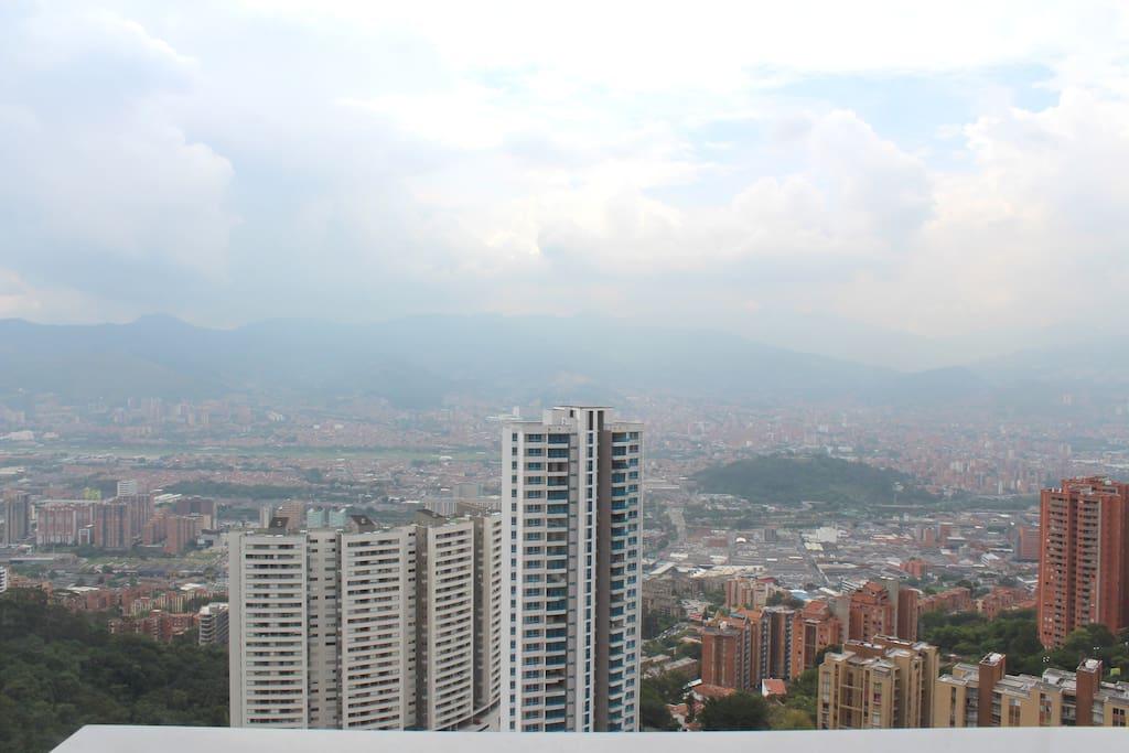 Vista al Centro de Medellin.