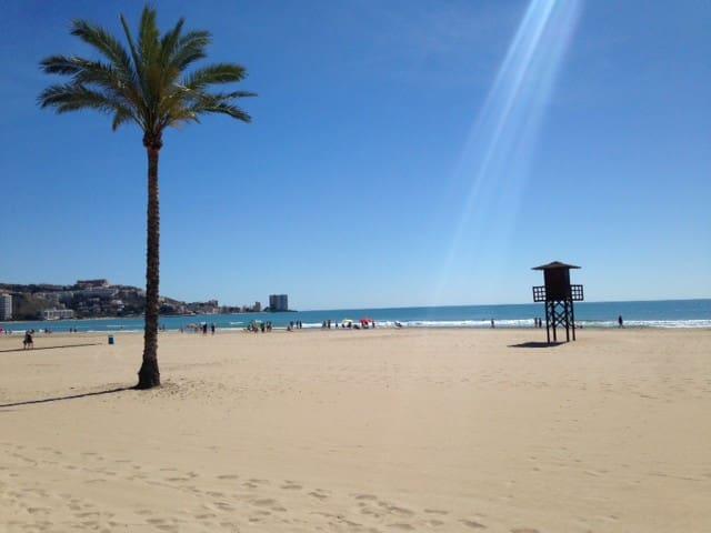 Tranquilo Apartamento en la Playa - Faro de Cullera