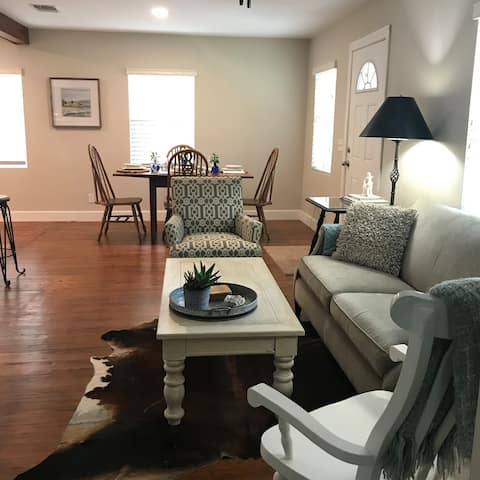 Renovated home in Bastrop Historic District