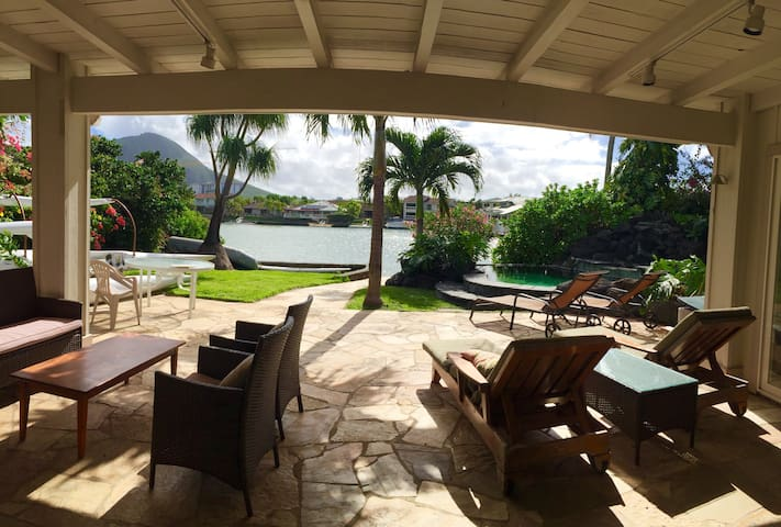 Waterfront view 1 bed and bath - Honolulu - Casa