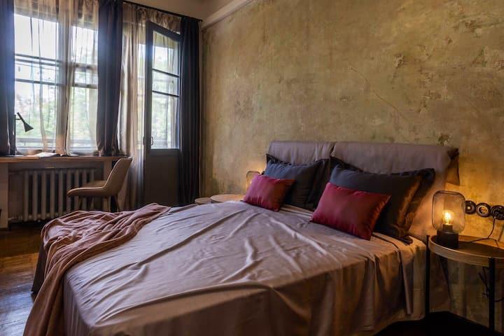 Cozy 1 bedroom flat, city center, near Gorkiy park