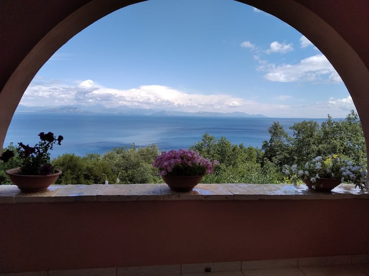 Ionian  sea view studio