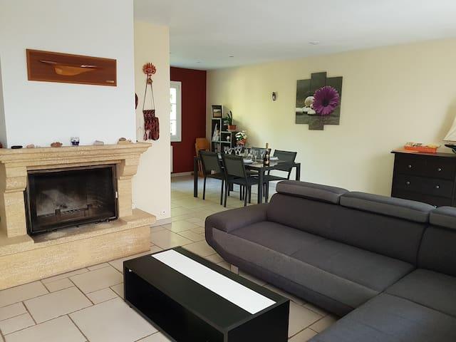 """Cottage """"le PicVert"""" + park 4000 m² near Metz"""