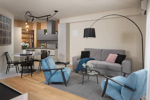 Apartamento Mia con terraza y pozo