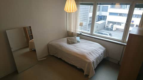 A basic room in a shared apartment