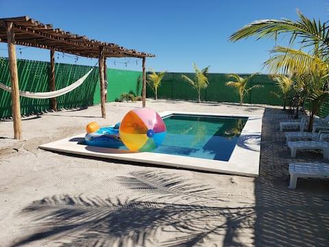 Casa Playa Uaymitun km 22.5  a 150 mts de la playa