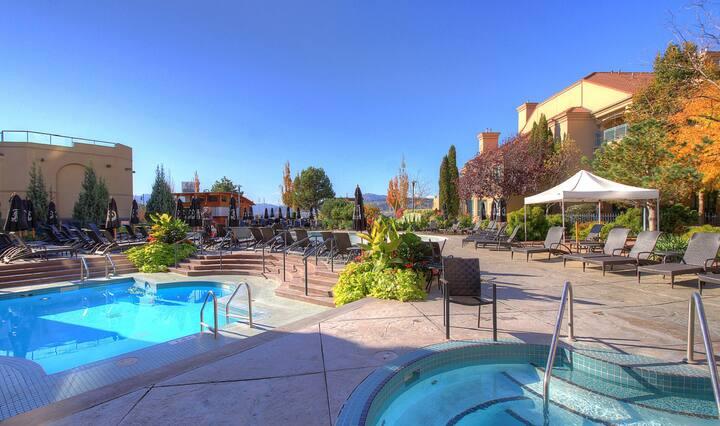 #235 Marriot Delta Grand Vacation Villa Downtown Kelowna