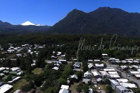 Acogedora Cabaña en Coñaripe (3)