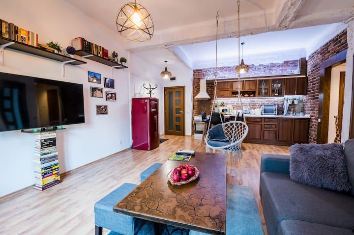 🍓 🍓 Top Center Relax, 2 Bedroom NDK, Vitosha Str