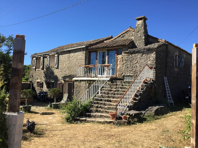 Location gîte authentique. - Saint-Félix-de-l'Héras - Huis
