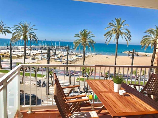 Disfrutar frente al mar, en el centro de Sitges