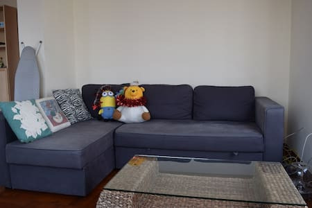 Cosy+Terrace+Lively 3min Jordan MTR - Jordan  - Apartment