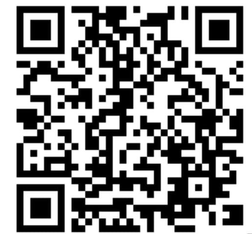 Thia QR code proves that the flat is legally registered to host guests