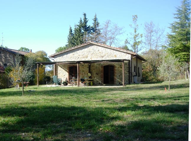 The Wood's House between Umbria and Tuscany