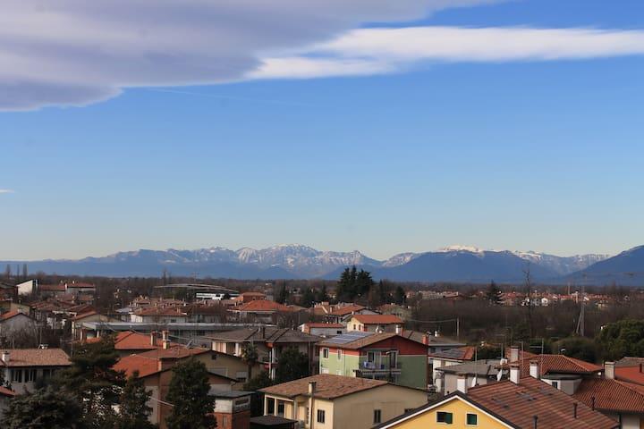 Incantevole loft - Castelfranco Veneto - Çatı Katı