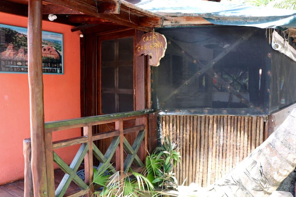 Casa Caribeña - Entrance