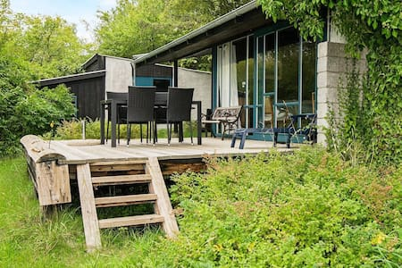 Exquisite Holiday Home in Knebel with Terrace