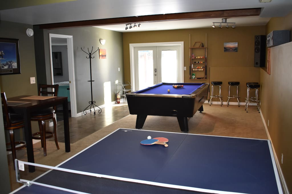 Activity room use for guests only while they stay